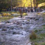 Die Terrassen eines Flusses